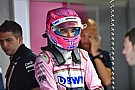 Force India rappelle à Renault son option sur Ocon