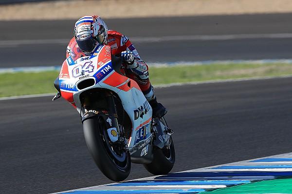 MotoGP Laporan tes Dovizioso pecahkan rekor pada hari kedua tes Jerez