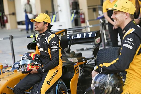 F1 Noticias de última hora Vídeo: la graciosa felicitación navideña de Sainz y Hulkenberg