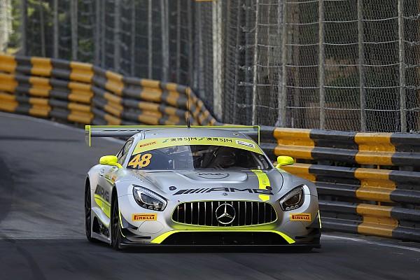 GT Raceverslag FIA GT World Cup Macau: Mortara wint voor Mercedes, knappe P2 voor Frijns