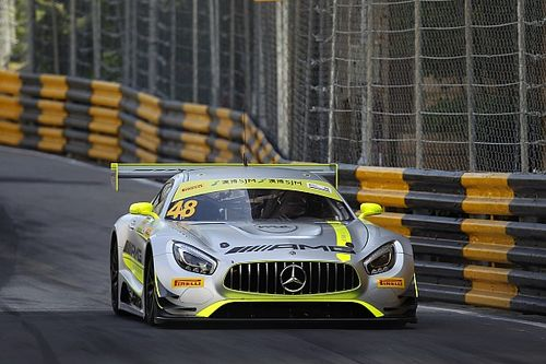 澳门GT:大撞车中止比赛,莫塔拉赢下排位正赛