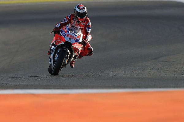 MotoGP 速報ニュース ロレンソ、ドゥカティの開発の遅れを実感「何も真新しいものがない」