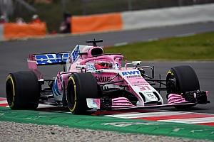 Formula 1 Test raporu Force India'dan yavaş başlangıç