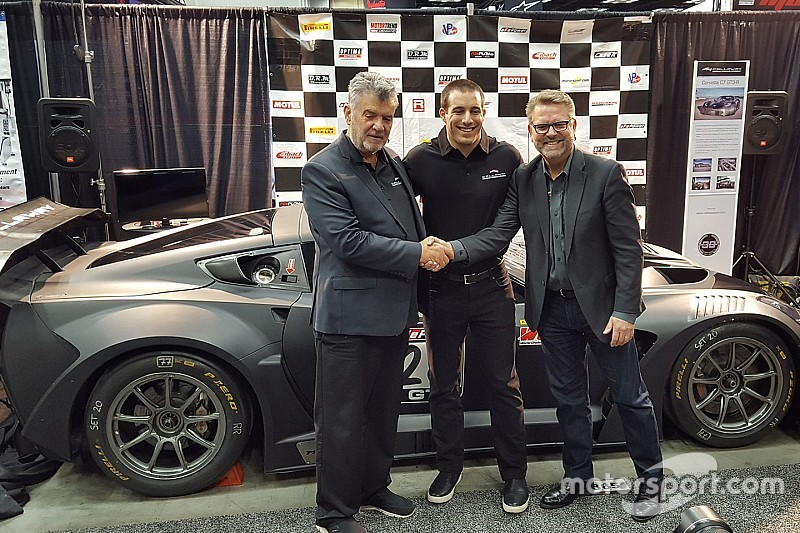 Former Cadillac ace Cooper to race Callaway Corvette