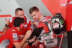 MotoGP Reaktion Test mit alter Ducati: Jorge Lorenzo sucht Vertrauen