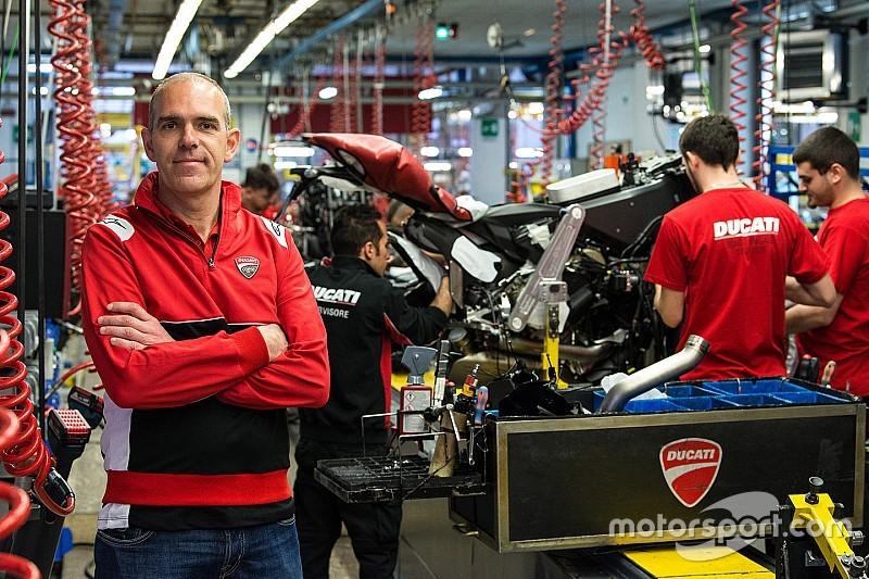 Ernesto Marinelli quitte la direction de l'équipe Ducati en WSBK