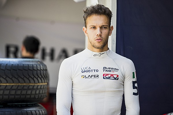 Formula 1 Breaking news F2 racer Ghiotto gets Williams F1 test chance