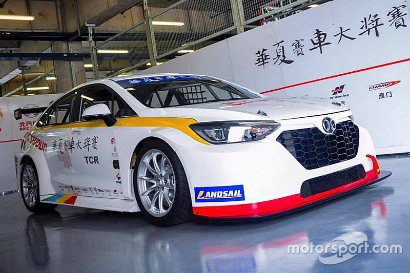 Senova D50: 1. TCR-Auto aus China vorgestellt