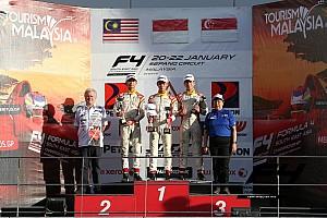 Formula 4 SEA Race report F4/SEA Sepang III: Jelang balapan terakhir, Presley juarai Race 5