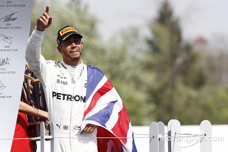 【F1】カナダ決勝詳報:ハミルトン盤石のレースで今季3勝目