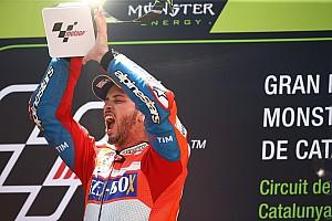 MotoGP Reporte de la carrera Dovizioso también gana en Montmeló y pone el Mundial al rojo vivo