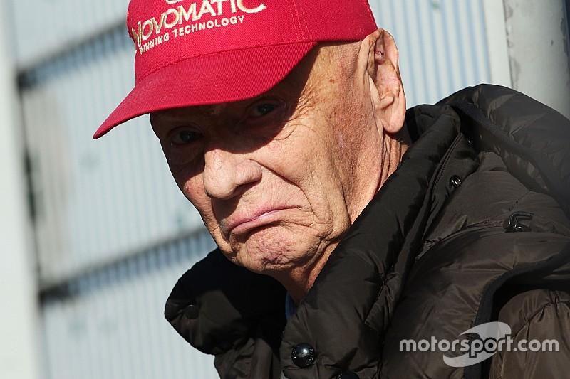 """Lauda: """"Va a ser un año complicado para Mercedes"""""""