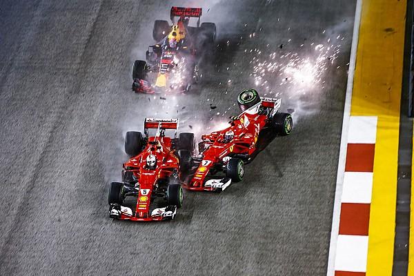 Формула 1 Відео: відтворення аварії на Гран Прі Сінгапуру