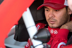 NASCAR Cup Breaking news Larson tops lone Friday practice session, Johnson wrecks