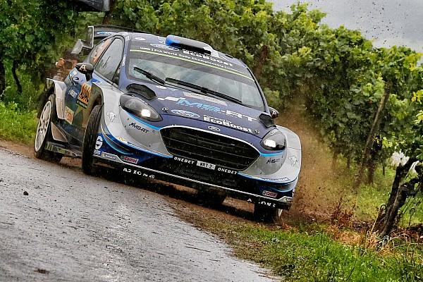 WRC-Rallye Deutschland: Tänak führt am Samstagmittag vor Mikkelsen