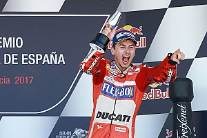 MotoGP Breaking news Lorenzo says Jerez podium should silence critics