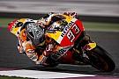 Маркесу понравился его гоночный темп, несмотря на падения в Катаре