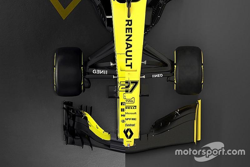 Renault F1 2018 Vs. Renault F1 2019: összehasonlítás