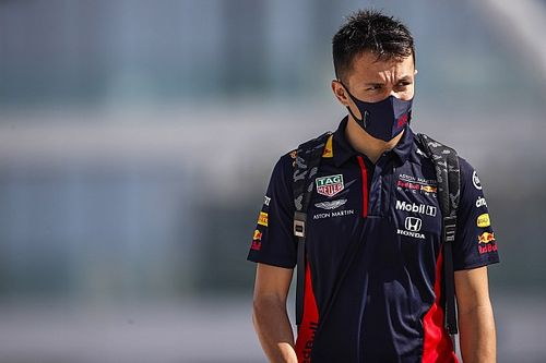 Red Bull released Albon for Williams seat but has 'future options'
