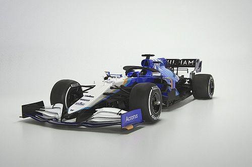 Williams, 2021 FW43B'nin örtüsünü kaldırdı!