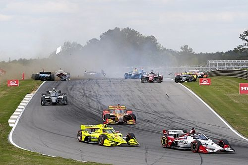 """Hunter-Reay: Aeroscreen """"likely saved my life"""" in IndyCar smash"""