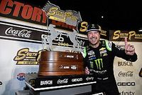 Kurt Busch takes dramatic playoff win at Las Vegas