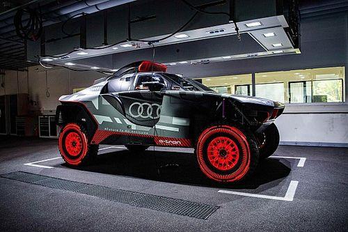 Audi revela el RS Q e-tron con el que busca hacer historia en el Dakar