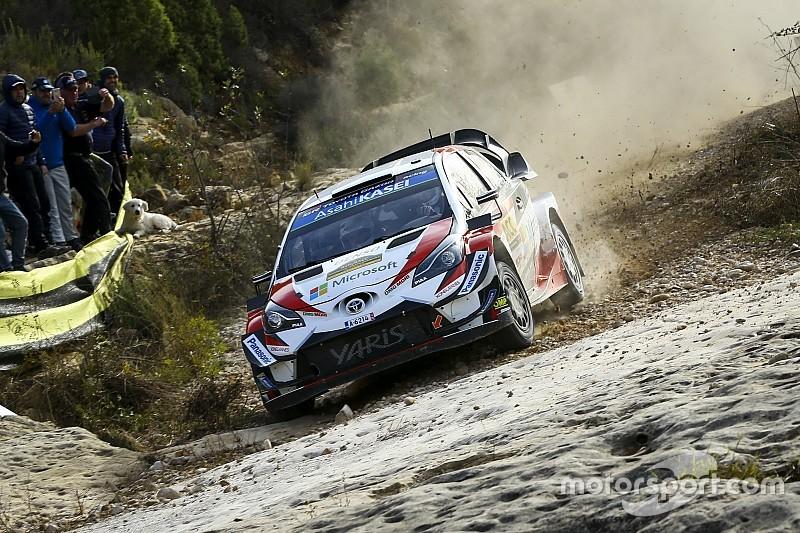 WRC Katalonya: Tanak farkı açıyor, Loeb dördüncü