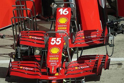 Ferrari: ecco perché la porzione di flap regolabile è più corta