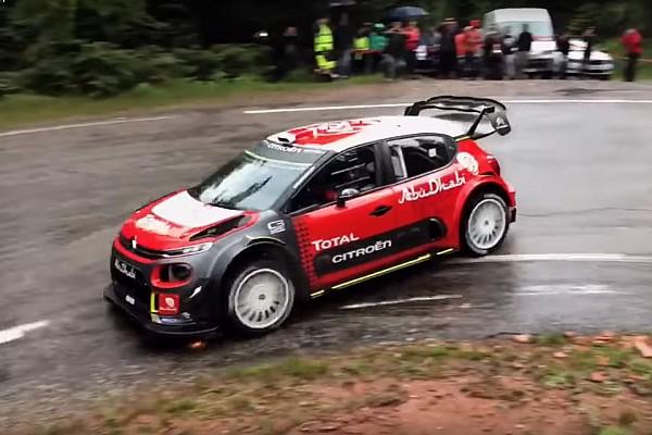 WRC Новость Себастьен Леб вернулся за руль машины WRC: видео