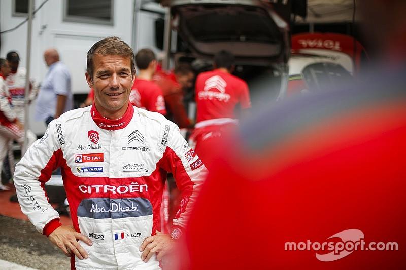 Loeb en test avec Citroën mercredi