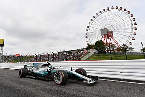 Formula 1 Practice report FP3 GP Jepang: Mercedes memimpin, Bottas dan Raikkonen kecelakaan