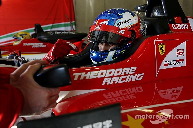 فورمولا 3 الأوروبية: زهو يفوز بالسباق الأوّل في جولة هوكنهايم الختامية