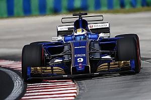 Formule 1 Actualités Ericsson pénalisé sur la grille à Spa