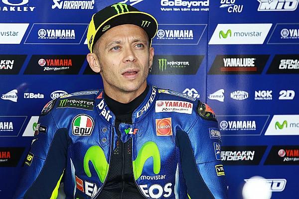 MotoGP Rossi: Nem tudtam spórolni, mindent meg kellett tennem az 5. helyért!
