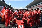 Ferrari, bujiyi değiştirebilmek için zamanla yarışmış
