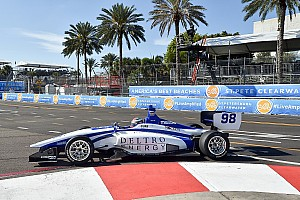 Indy Lights Reporte de la carrera St Pete Indy Lights: Urrutia y O'Ward logran podio