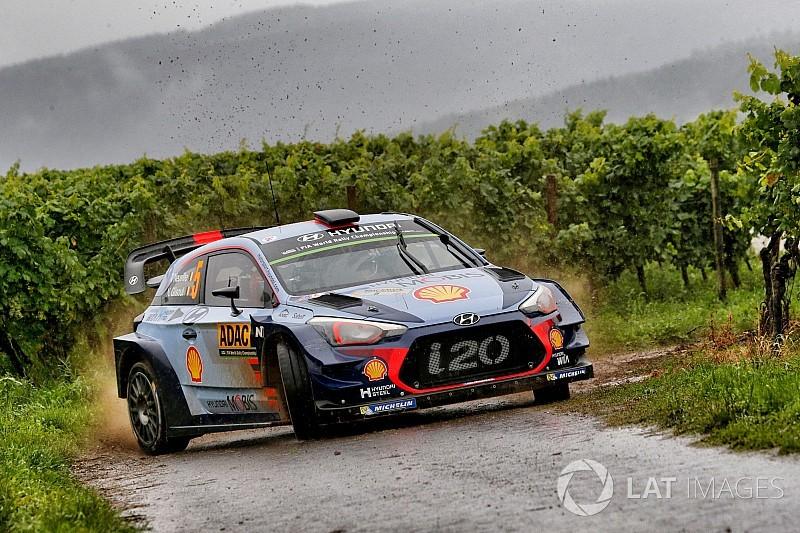Neuville se retira del Rally de Alemania