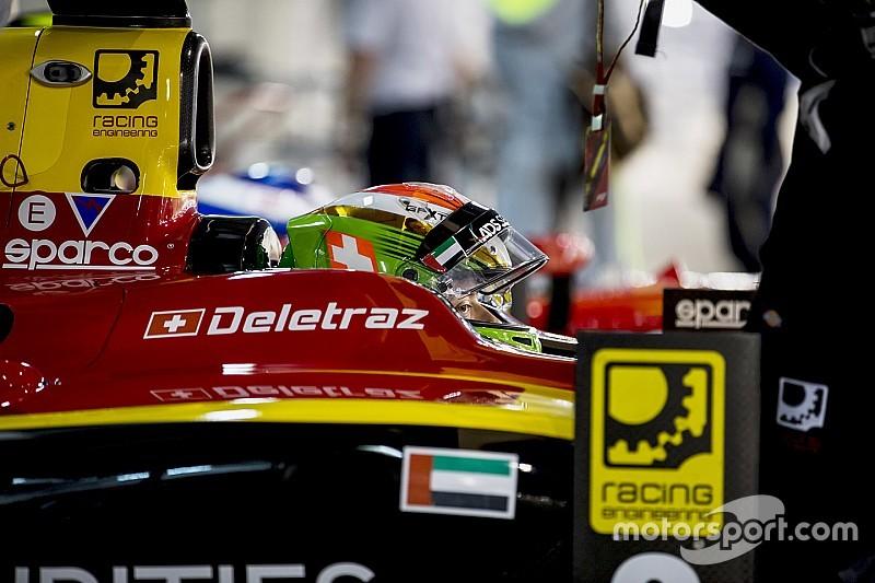 Formule 2 : Louis Delétraz fâché avec soi-même