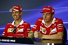F1 フェラーリ3年目のベッテル「ライコネンはベストなチームメイト」