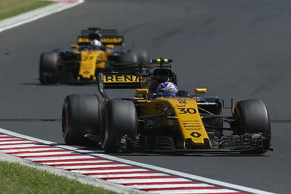 Renault avec des améliorations moteur à Spa et Monza
