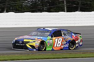 NASCAR Cup Qualifyingbericht NASCAR in Pocono: Kyle Busch holt Pole-Position kurz vor Rennstart