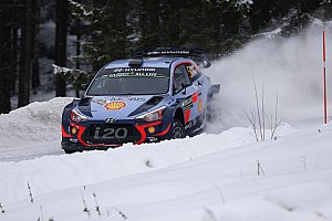 WRC Etappeverslag Neuville domineert en slaat dubbelslag met winst in Zweden