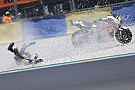 MotoGP Crutchlow ontsnapt aan ernstige blessure bij crash in Le Mans