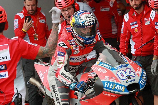 MotoGP Dovizioso retient une course encourageante à Jerez, malgré la chute