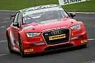 BTCC Tordoff makes BTCC test comeback in AmD Tuning Audi