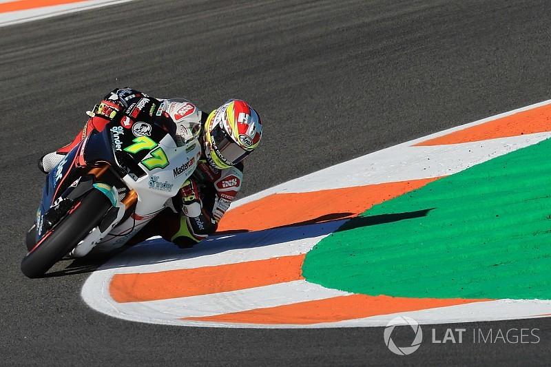 "Moto2-Pilot Dominique Aegerter: ""Es geht an die Substanz"""