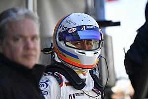 IMSA Новость Алонсо не проехал ни круга в первой тренировке «Дайтоны»