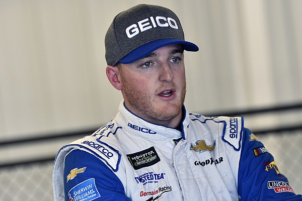 Ty Dillon leads the first Talladega Cup practice at 203mph