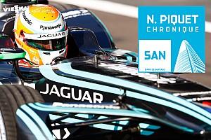 Formule E Chronique Chronique Piquet - J'ai pris un risque avec Jaguar, et ça paye